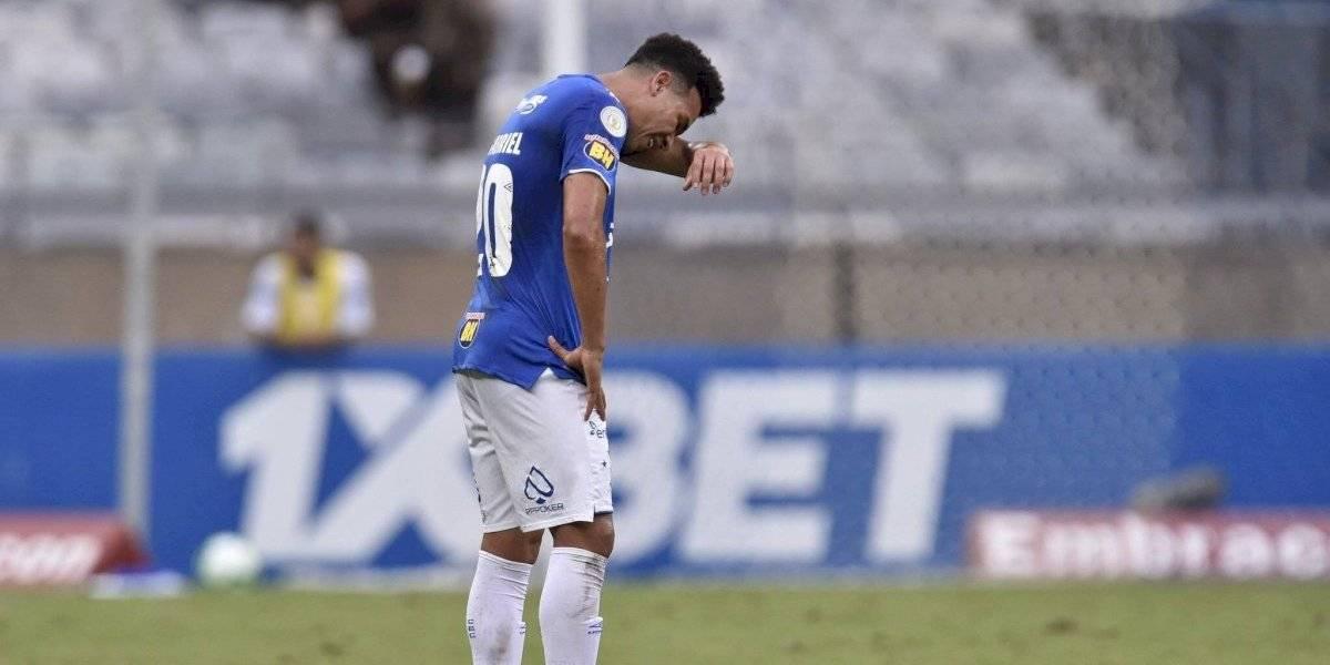 Cruzeiro perdió contra Palmeiras en el Brasileirao y selló el primer descenso de su historia