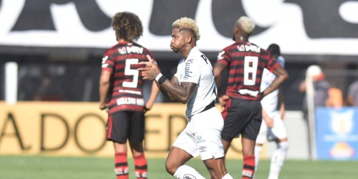 Santos de Sampaoli bajó de la nube al Flamengo y lo goleó en la última fecha del Brasileirao