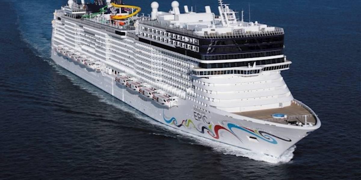 Reportan muerte a bordo de crucero que arribó al muelle Panamericano