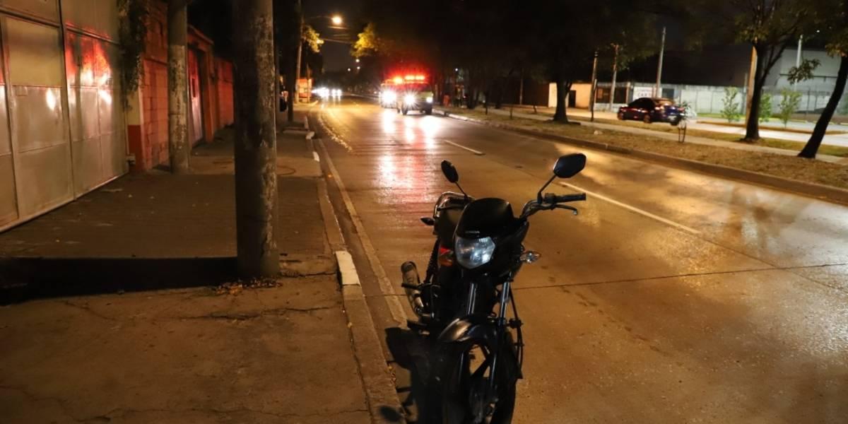 Exceso de velocidad y consumo de alcohol deja a siete motoristas accidentados