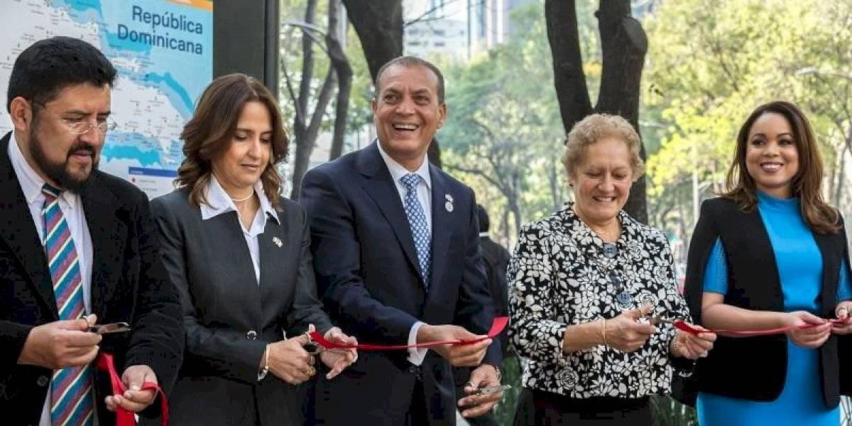 RD exhibe sus encantos en la capital de México