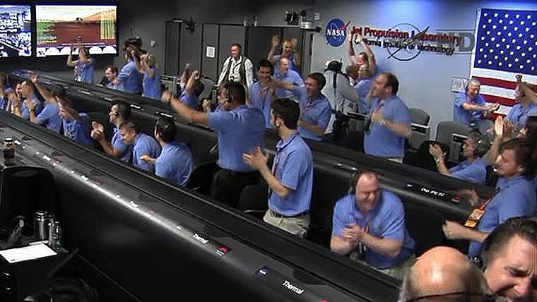 NASA trabajar