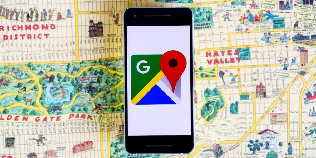 Dentro de poco Google Maps mostrará las calles más iluminadas