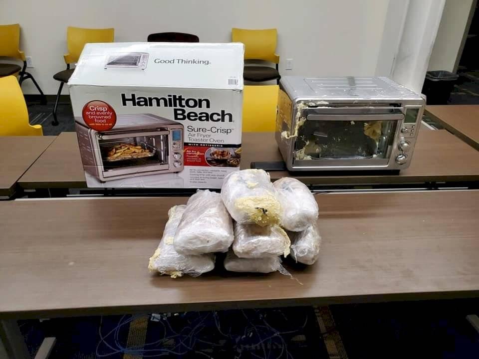 Metanfetaminas confiscadas por la policía en Kentucky