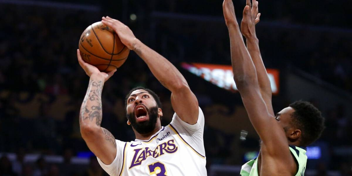 Anthony Davis y LeBron James, una dupla de época de los Lakers