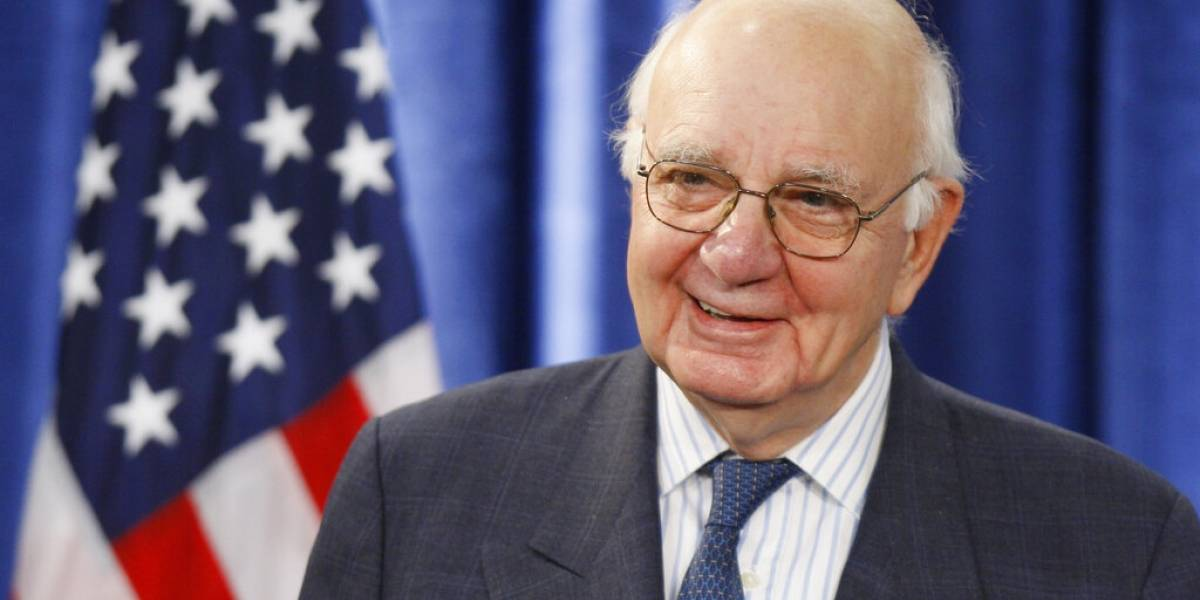 Fallece Paul Volcker, expresidente de la Reserva Federal