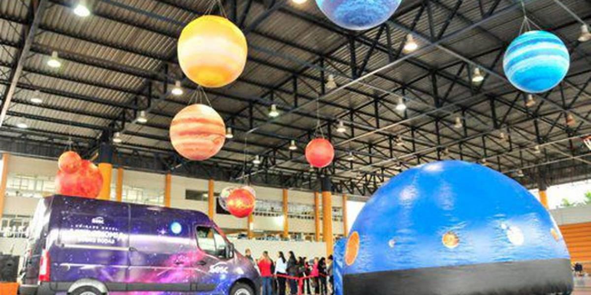 Astronomia sobre Rodas: projeto leva ciência a estudantes no DF