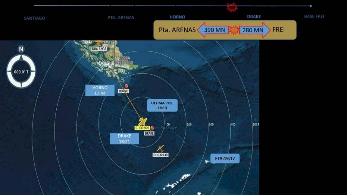 Desaparece avión militar de Chile con 38 personas rumbo a la Antártida