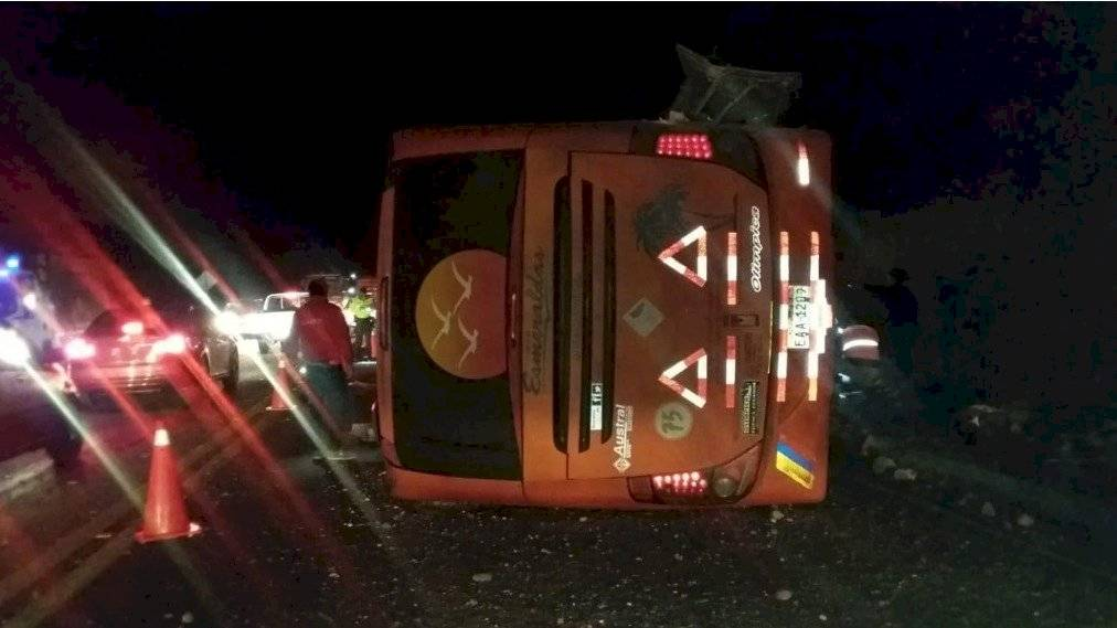 Accidente de tránsito en Tabacundo, Río Pisque