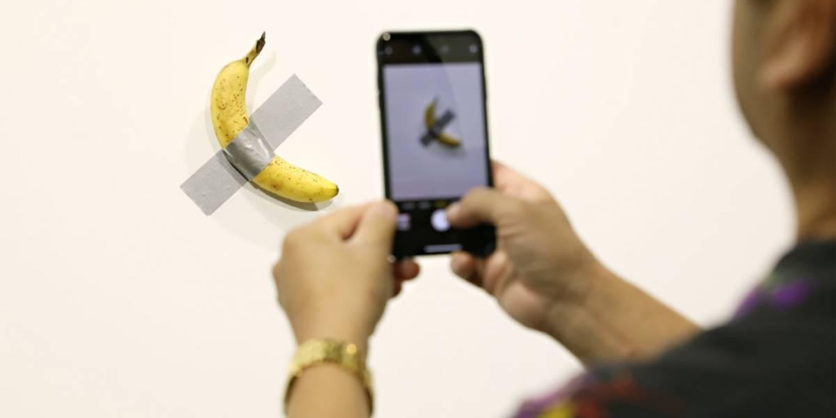 Americano come banana vendida por US$ 120 mil em feira de arte contemporânea