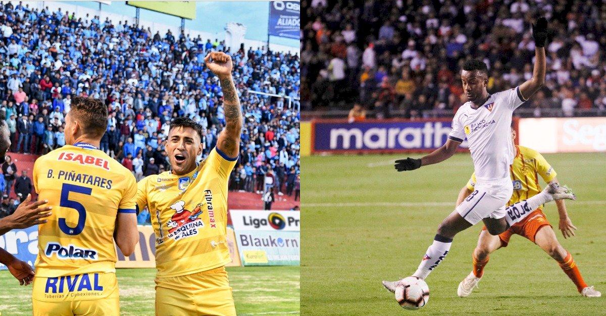 Delfín de Manta jugará su segunda final del año contra Liga de Quito Metro Ecuador