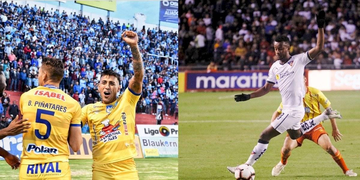 Liga de Quito vs Delfín: Repetto se pronuncia ante reclamos de su rival