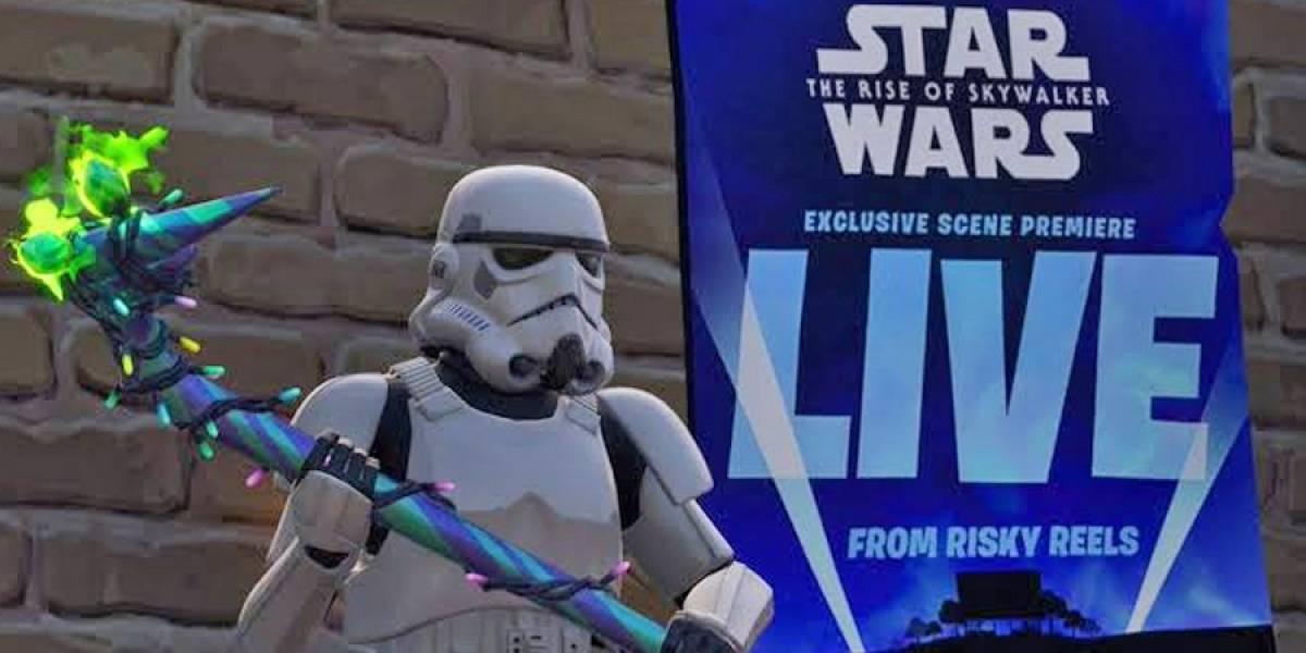 Fortnite mostrará una escena de Star Wars: The Rise of Skywalker antes que nadie