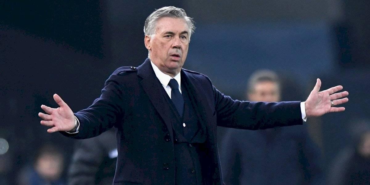Ancelotti, con la maleta lista para marcharse del Napoli
