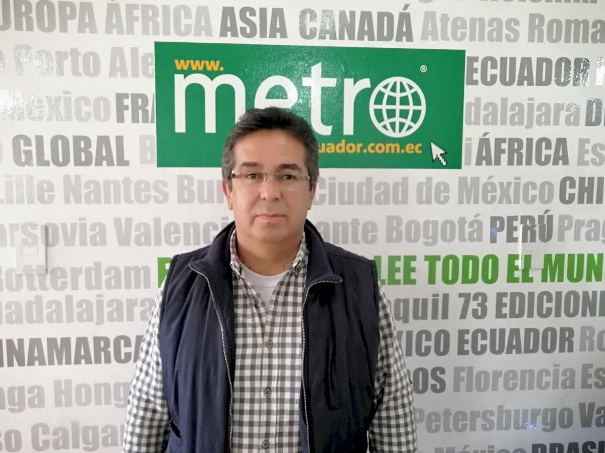 Carlos Jaramillo, coordinador del Colectivo Ciudadano de Afectados por Créditos Educativos.