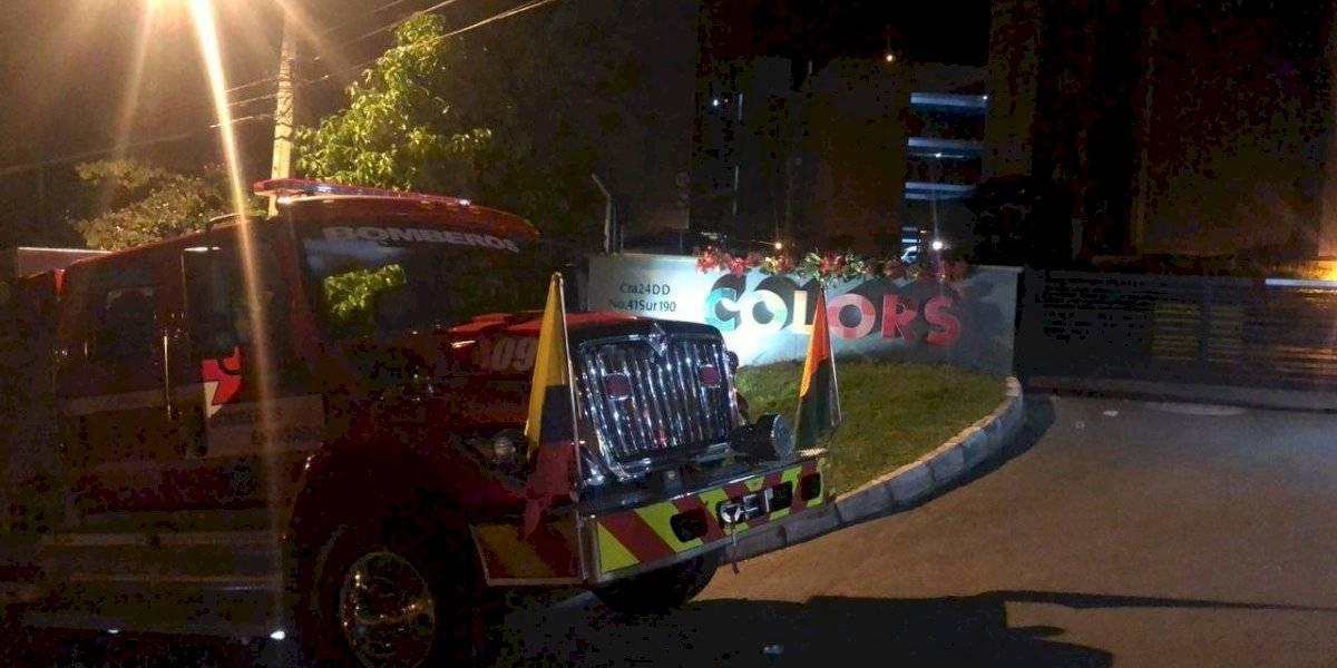 Grave incendio en el conjunto residencial Colors de Envigado dejó más de 30 lesionados