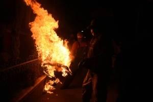 Juego de bolas de Fuego en San Cristóbal Verapaz