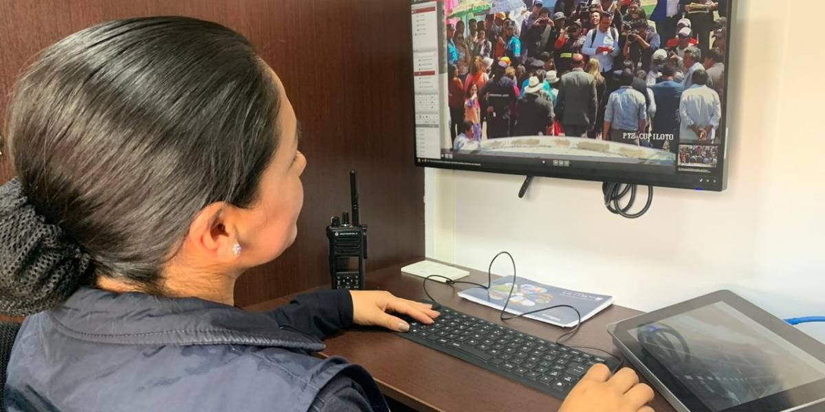Quito: cámaras de reconocimiento facial funcionarán con altavoces para advertir a ciudadanos