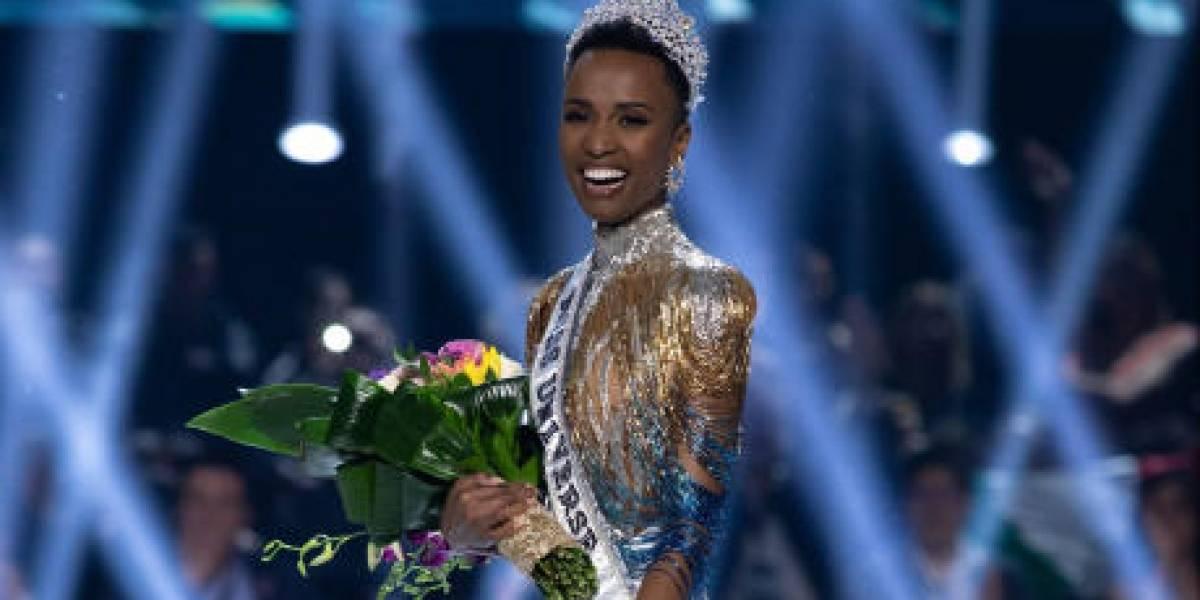 """Zozibini Tunzi de Sudáfrica es la """"Miss Universo 2019"""