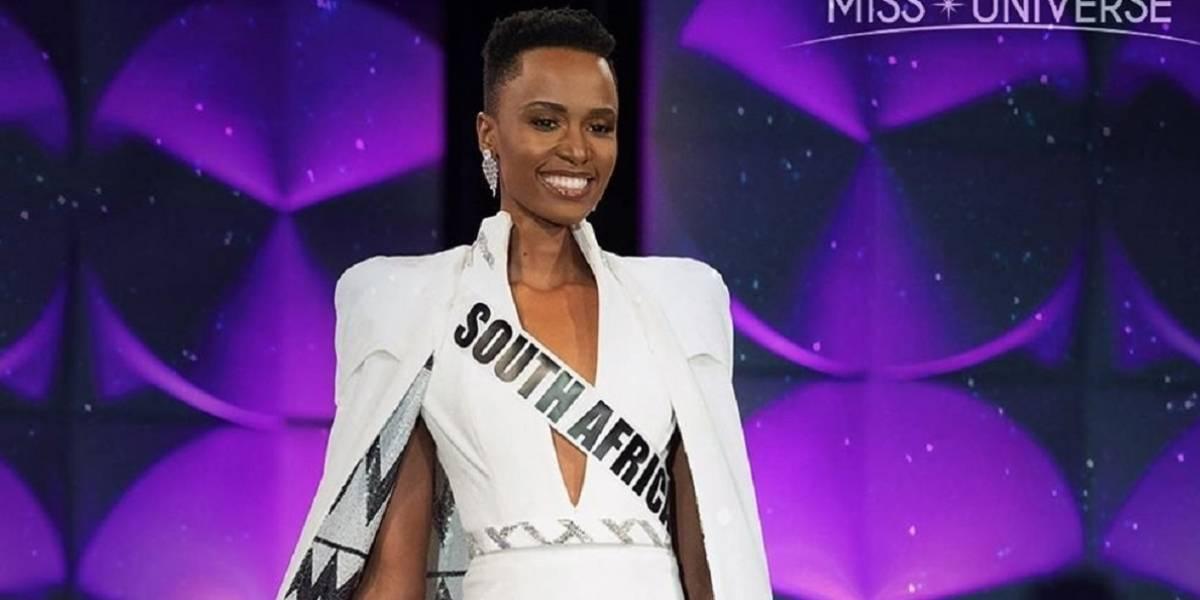 La poderosa foto de la nueva Miss Universo 2019 sin maquillaje