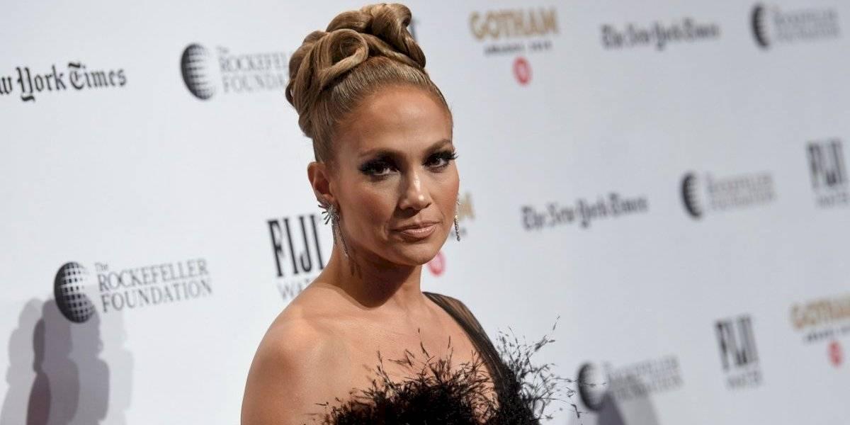 La foto con 'poca ropa' de Jennifer López que no viste en 'Hustlers'