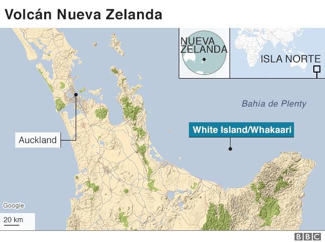 Grave: Cinco muertos deja hasta ahora erupción del volcán White Island en Nueva Zelanda