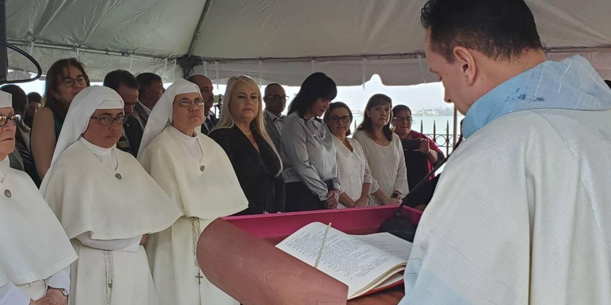 Padre Carlos Pérez aboga por la Libertad Religiosa en misa a la que asistió Wanda Vázquez