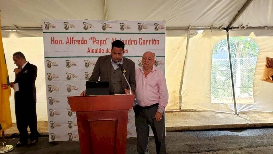 """El alcalde de Juncos, Alfredo """"Papo"""" Alejandro"""