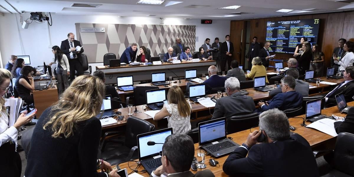 CCJ do Senado aprova projeto da prisão após 2ª instância por 22 votos contra 1