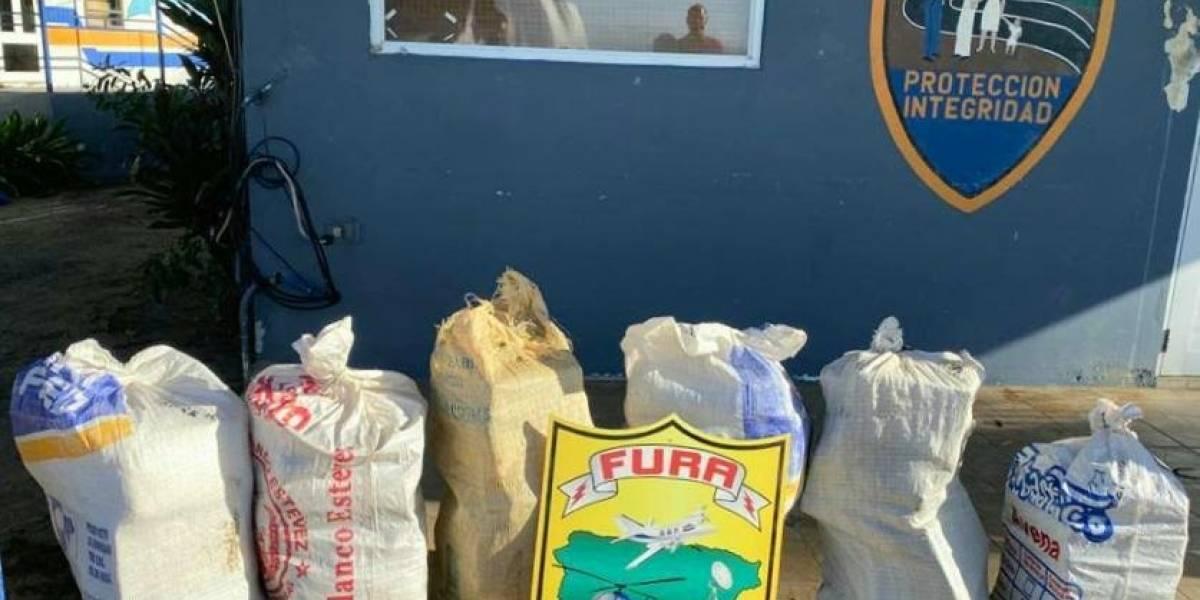 Arrestan a 5 dominicanos y confiscan 182 kilos de cocaína cerca de la costa oeste de Puerto Rico