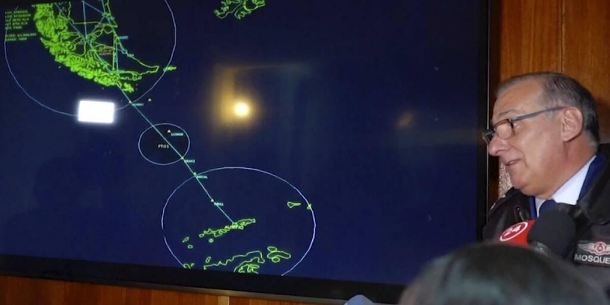Desaparece avión militar chileno que iba a la Antártida