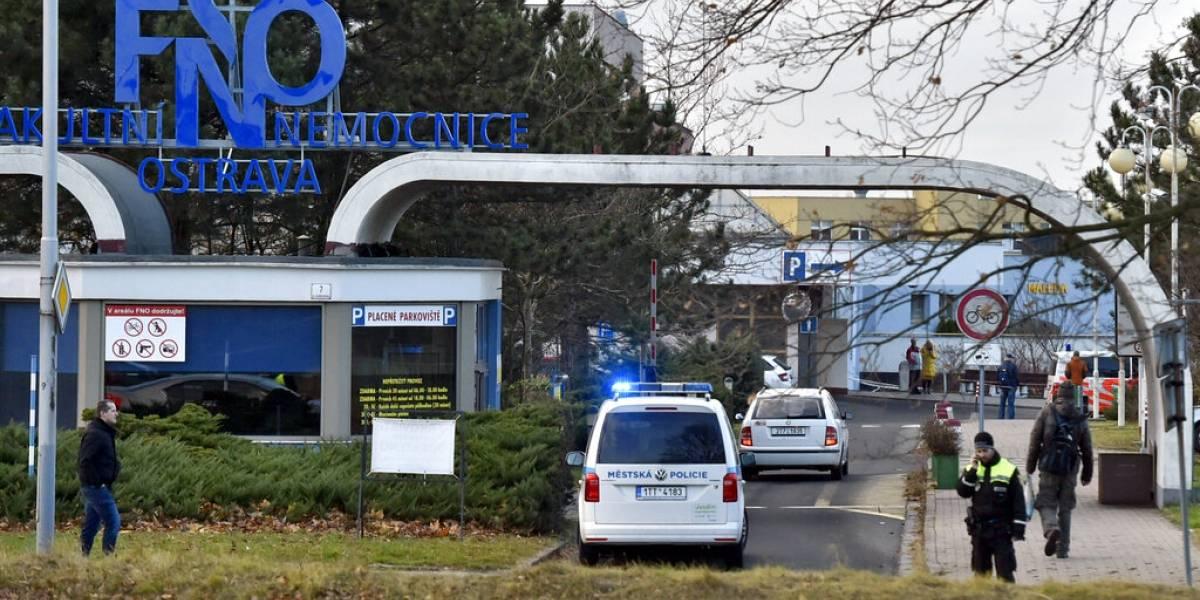 Tiroteo en hospital de República Checa deja seis muertes