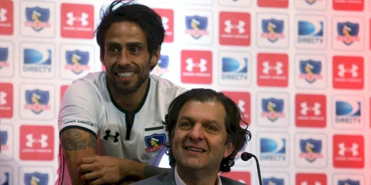 """Valdivia le pasa la pelota a Blanco y Negro: """"El entrenador quiere contar conmigo, ahora la definición es de los dirigentes"""""""