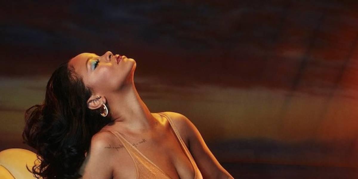 Rihanna presumió su cuerpo en un diminuto bikini