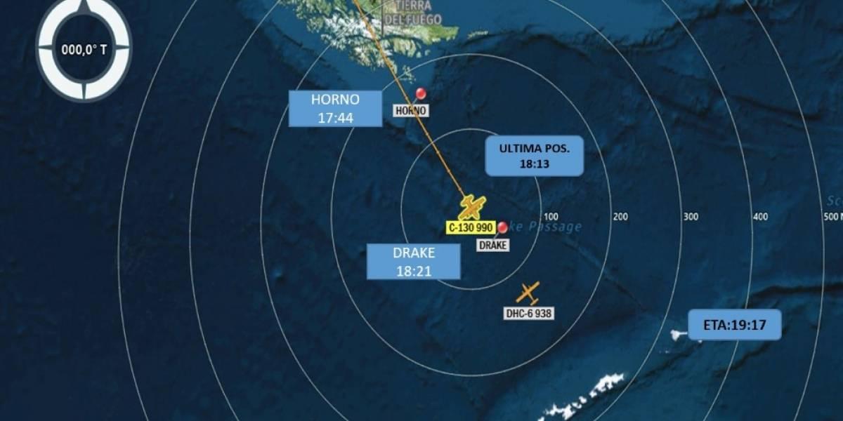 Las aguas más tormentosas del planeta: así es la zona donde desapareció el avión de la Fuerza Aérea camino a la Antártica