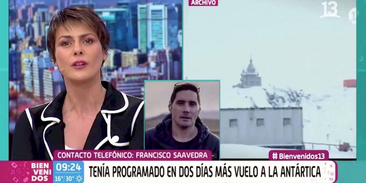 """Francisco Saavedra: """"El saber que estuve en ese avión me provoca un sentimiento tremendo"""""""