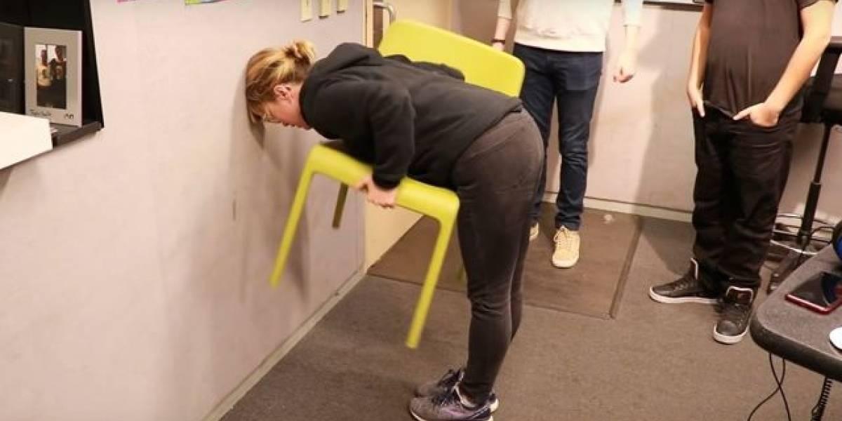 #ChairChallenge: Você já fez o desafio da cadeira? Entenda por que só mulheres conseguem executá-lo