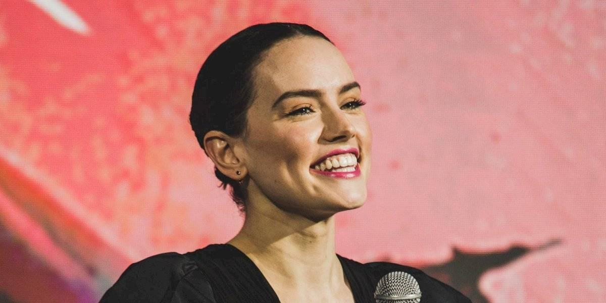 Daisy Ridley 'flota' hacia el final de la saga 'Star Wars'