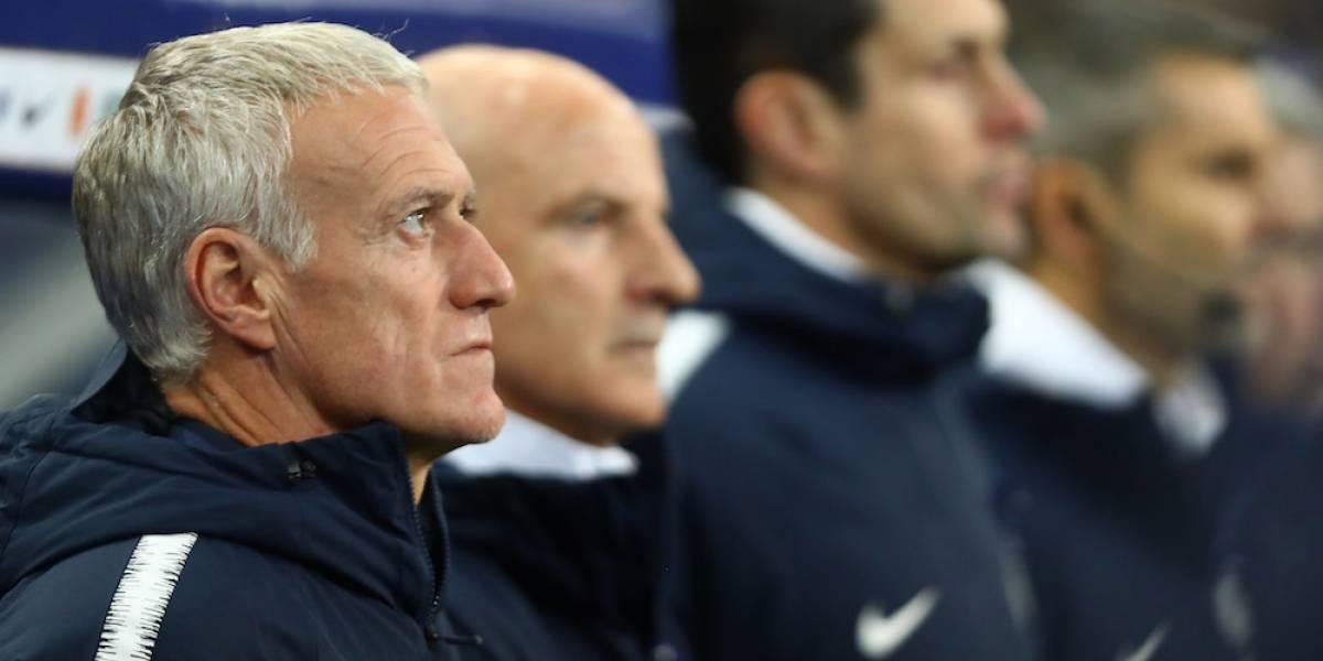 Didier Deschamps seguirá como DT de Francia hasta el Mundial de 2022