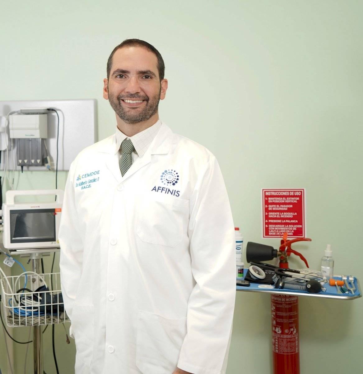 Dr. Adalberto González, gerente de Servicios Clínicos del Centro Médico de Diabetes, Obesidad y Especialidades (CEMDOE) y AFFINIS