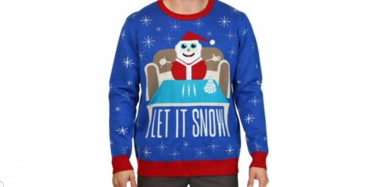 Walmart se disculpa por polémico suéter de Santa Claus con cocaína