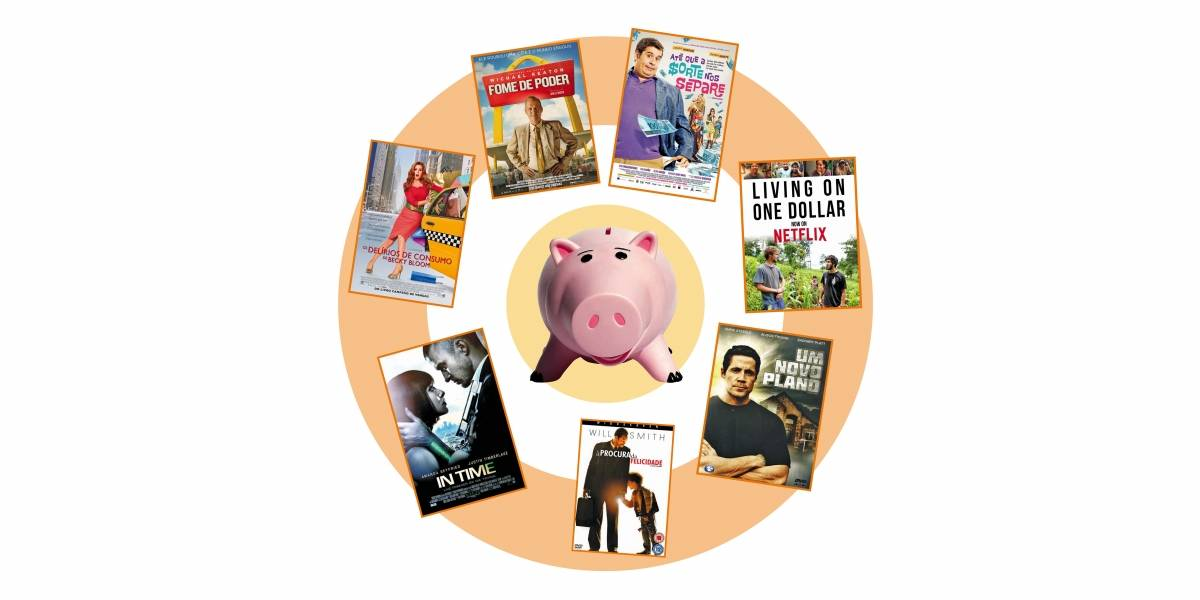 Sete filmes com boas lições de educação financeira para assistir em família