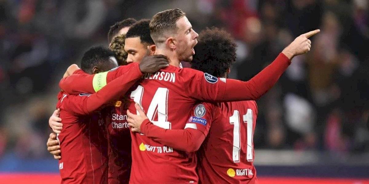 Liverpool derrotó al Red Bull Salzburg de visita y se clasificó a octavos de final de Champions League