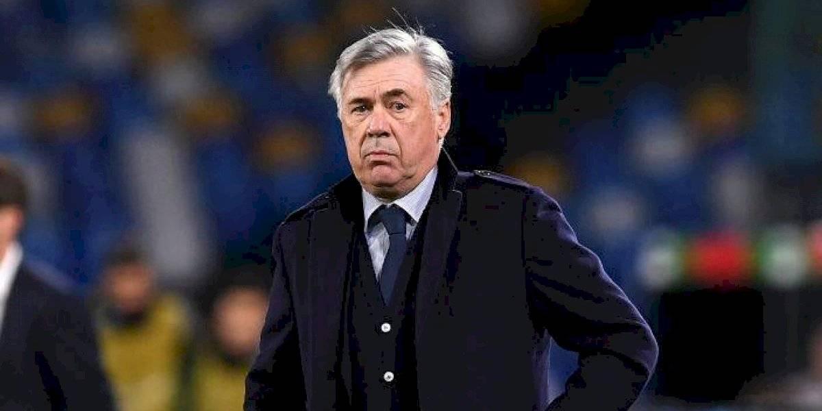 Carlo Ancelotti se despidió del Napoli tras clasificación a octavos de final de la Champions