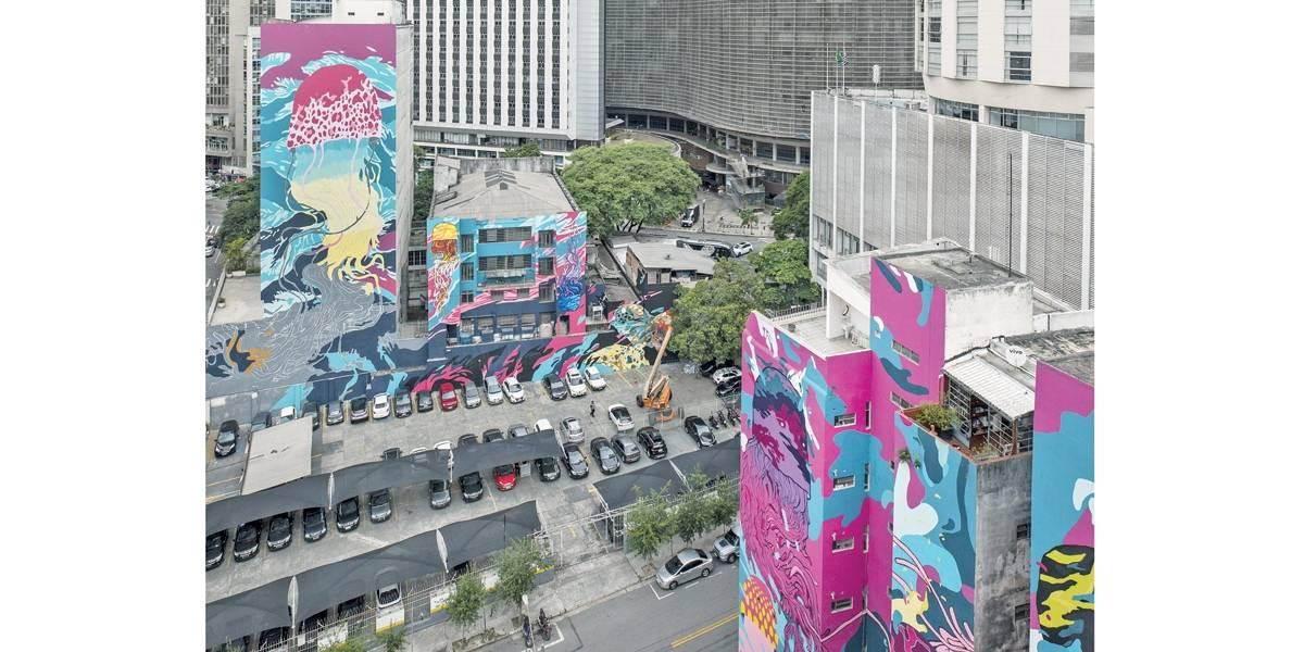 Grafite: Aquário Urbano pode voltar a ser pintado