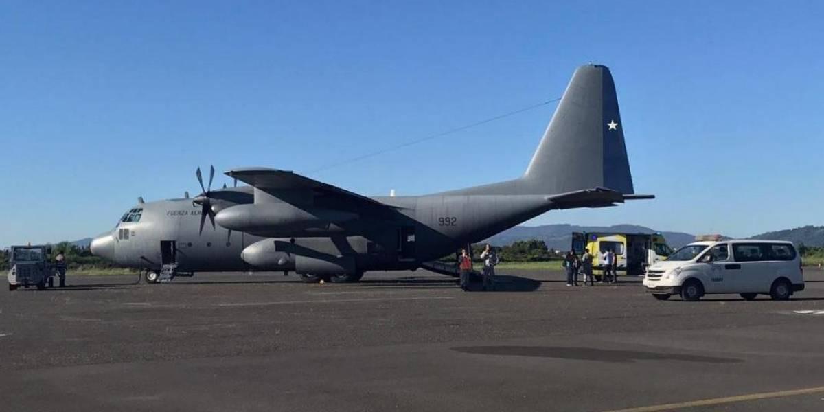 Avión Hércules de la FACH ha siniestrado en el sur de Chile