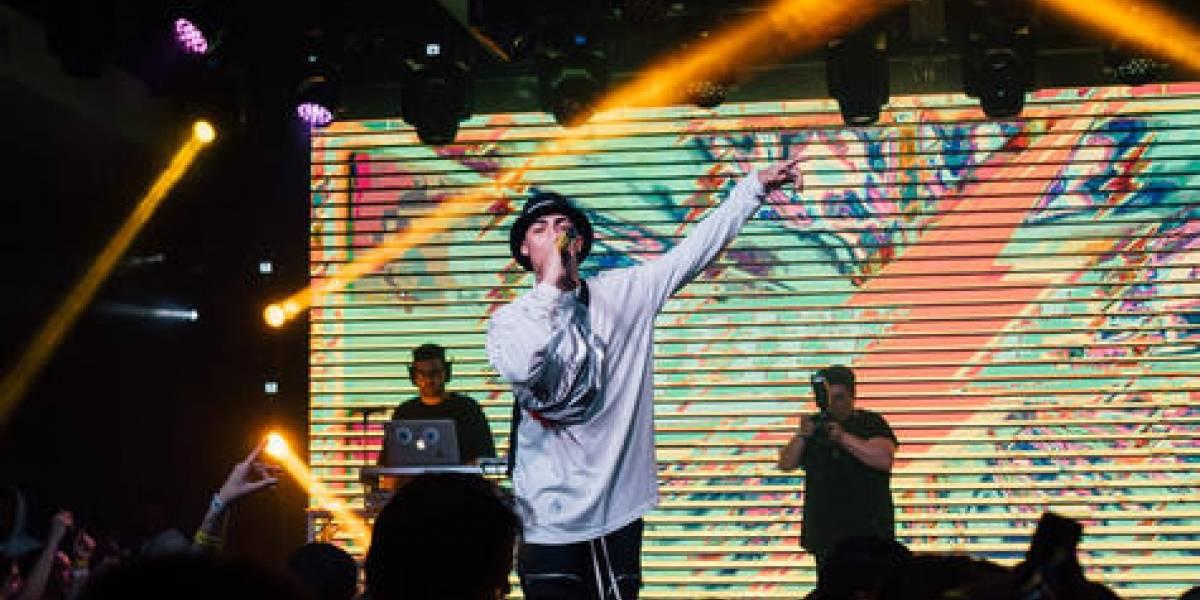 Lunay puso a bailar al público en su primer show en RD