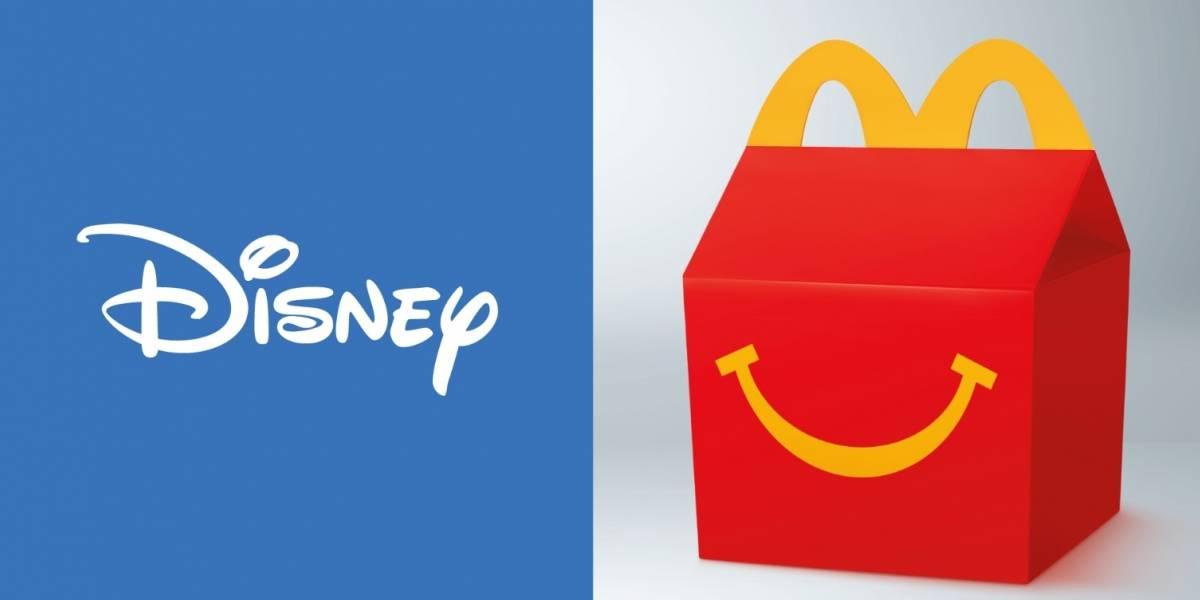 Tus personajes favoritos de Disney estarán en la Cajita Feliz