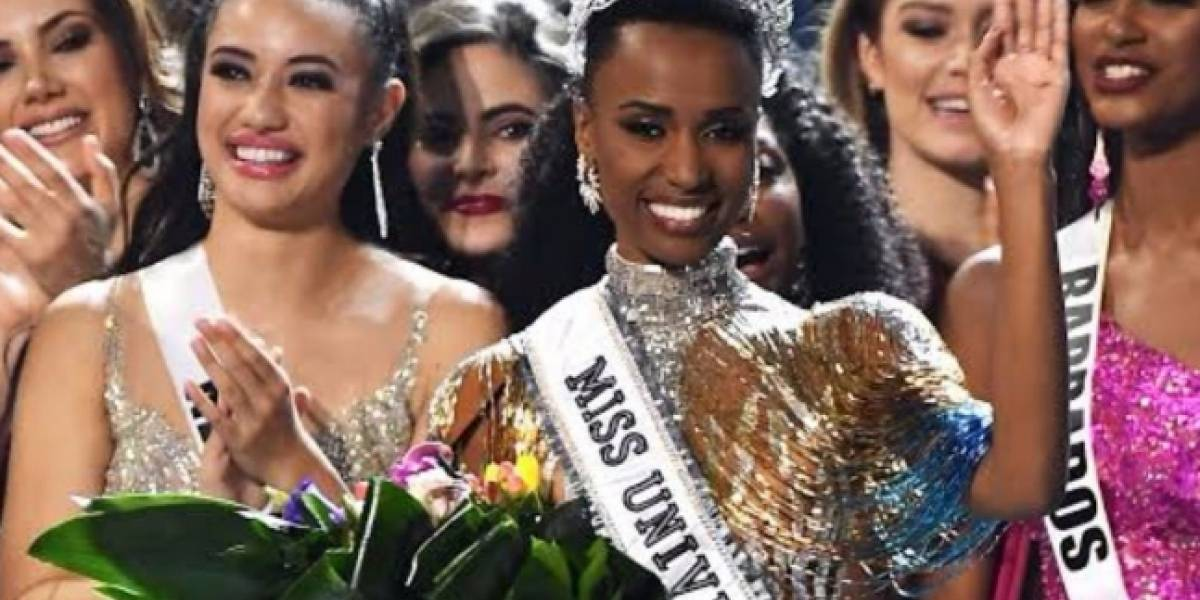 La nueva Miss Universo 2019 le regaló su primer autógrafo a Steve Harvey