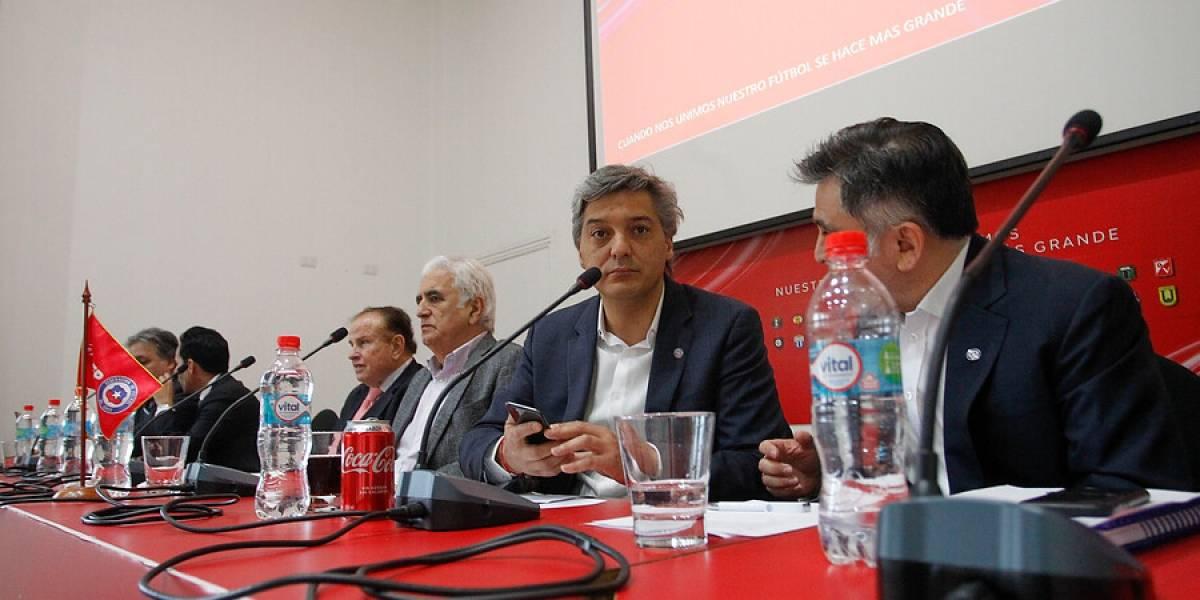 """La Federación de Fútbol deja en manos del directorio de la ANFP la decisión del """"Chile 4"""" para la Copa Libertadores"""